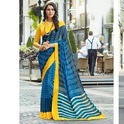 Georgette Fancy Printed Designer Saree