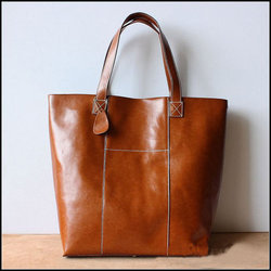 Black Tan Leather Tote Bags Rs 1600 Piece Xl Enterprises Limited Id 12860285833