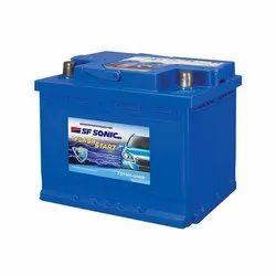 Exide SF Sonic Car Battery, Model Name/Number: Fs1440-din50, Battery Type: Tubular