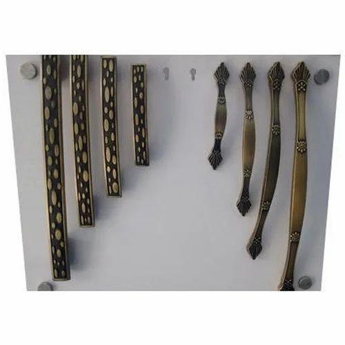 Zinc Antique Door Pull Handle Set, Bronze - Zinc Antique Door Pull Handle Set, Bronze, Rs 24 /inch ID