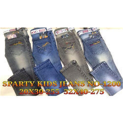Casual Wear Denim Kids Sparty Jeans