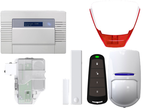 HIKVISION Home Alarm Systems, ENF-APP-KIT-AM-WD | ID: 18322302012