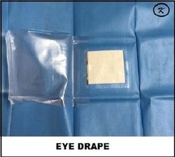 Eye Drape With Drainage Bag (Non Wooven)