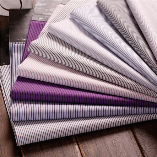 Stripes Cotton Fabric, GSM: 150-200 GSM, Packaging Type: Roll