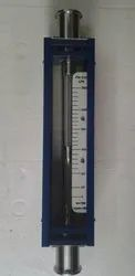 Glass Tube Rotameter TC End