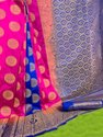 Kanchivaram With Jacquard Saree