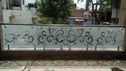 Modular Glass Handrail