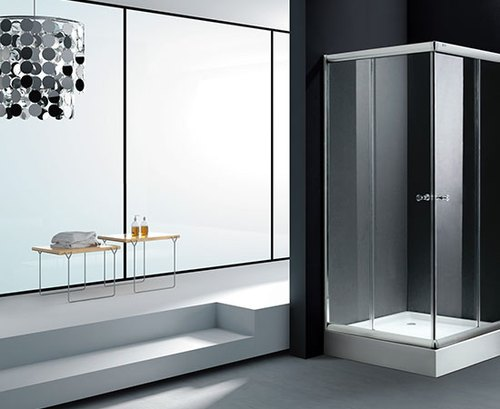 Glass Shower Partition at Rs 18000/per l | शावर पार्टीशन ...