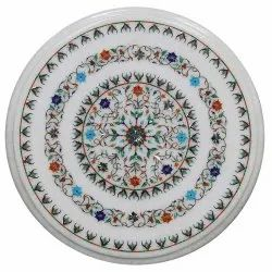 Gorgeous Inlay Marble Dining Table Top