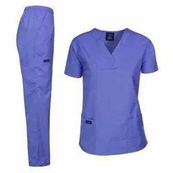 Cotton Unisex Hospital Staff Dress