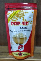 Pop Up Corn 240 Grams, Packaging Type: Packet