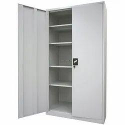 Kalyani Furnitech Double Door White Mild Steel Cupboard for Home