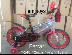Ferrari Red Kids Bicycle Size 12 14 1 6 18 20 Inch Size Rs 3000 Piece Id 21722952588