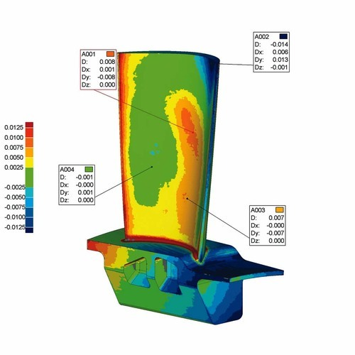 Geomagic Qualify Automatic CAD Inspection Software