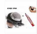 9x7 Inch Hair Toupee And Human Hair Black