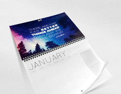 1 Day Paper Calendar Printing Services, Tamil Nadu, Dimension / Size: 17x24