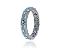 Designer Diamond Gemstone Bracelet
