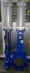 Pneumatic Cylinder Knife Gate Valves