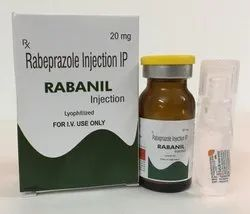 Rabeprazole 20 mg inj with WFI(for iv use)