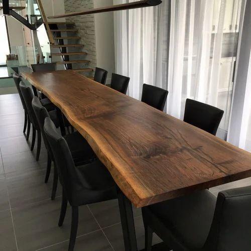 Dining Table Bespoke Live Edge Manufacturer