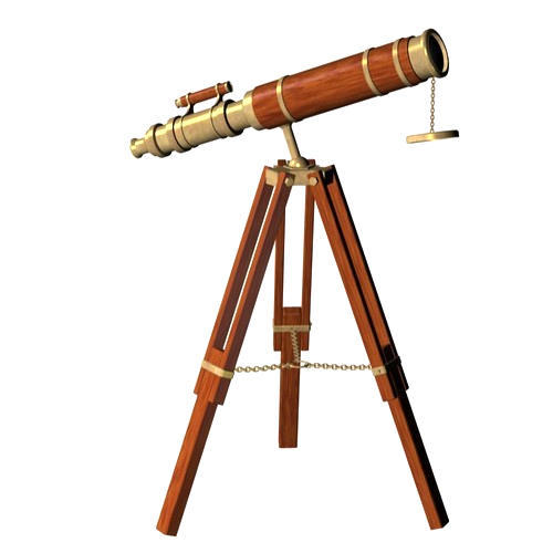 Piru Enterprises Antique Telescope
