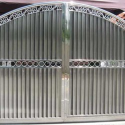 Modern Stainless Steel Gate
