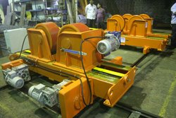 MOGRA Power Trolley Welding Rotator