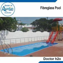 Blue PVC Fiberglass Pools, for Amusement Park