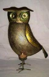 Iron Standing Owl
