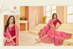 Pink Designer Sharara Style Suit