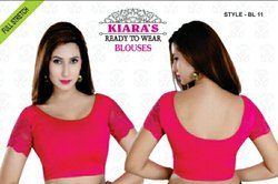 Ladies Stretchable Blouses - Cotton Lycra