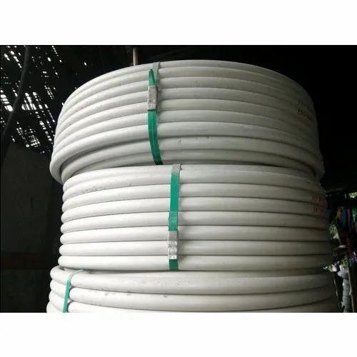 White Conceal Electrical Pvc Pipe For Wiring Size 8 Mm Rs 75 Kilogram Id 21643185697