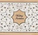 P 2460 Wedding Cards, Size: 8x8 Inches