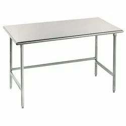 Stainless Steel Rectangular Working Table