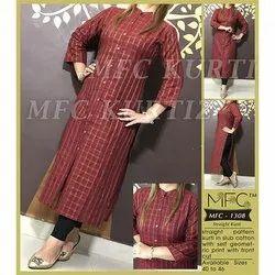 MFC 1308 Straight Cotton Kurti