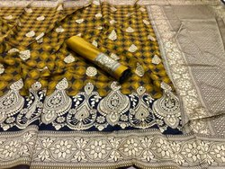 Attractive Banarasi Silk Saree