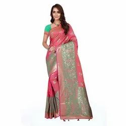 1522 Jacquard Silk Saree