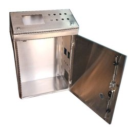 Rectangular Stainless Steel Control Panel Box