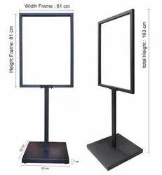 Iron Metal Frame Standee