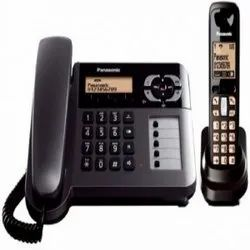 PVC Panasonic TG3711 Cordless Landline Phone, Packaging Type: Carton Box, For Home and Office