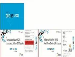 Rabeprazole (EC) , Aceclofenac (SR) Capsule