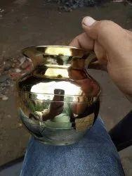 Brass Kalyani Lota, Size: 9,10