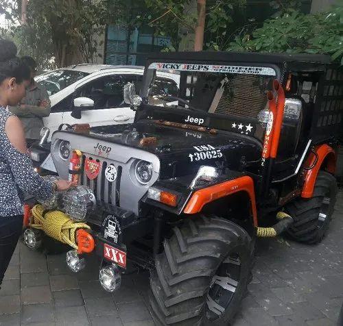 2k Company Paint Modified Hunter Jeep Rs 400000 Piece M S Vicky