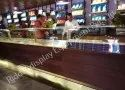 Chat and Fast Food Display Counter