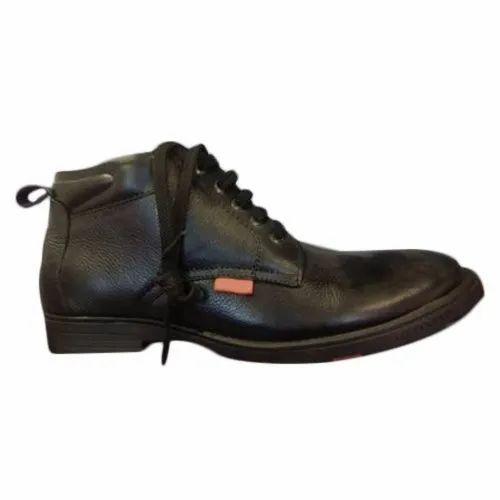9612c7b22554 Mens Black Leather Shoes at Rs 1300 /pair | Narela | Delhi | ID ...