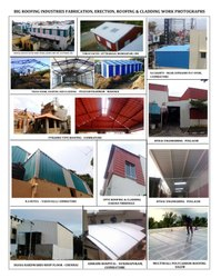 Steel Roofing Structure Fabrication Service