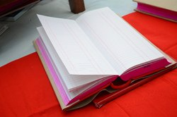 Office Use Register Day Books