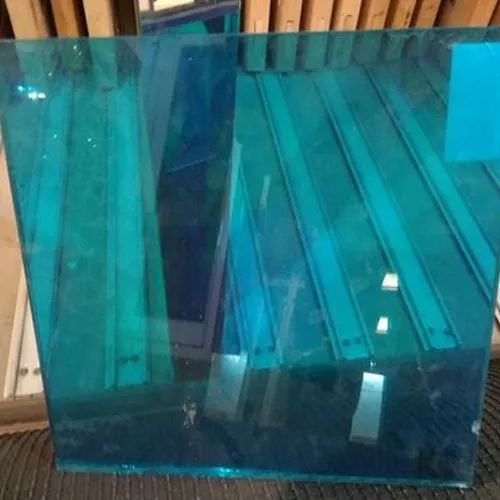 Green Toughened Safety Glass, Thickness: 5-10 Mm, for Door and Window