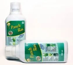 Shrimad Herbal Natural Panch Ras (Alloevera-Amwla-Giloy-Wheat Grass-Tulsi) For Oral, Pack Type: Bottle