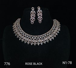 CZ Necklace Set